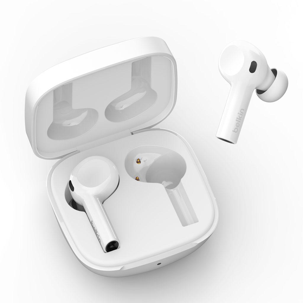 Belkin Soundform Freedom 可通過 Apple 的「 Find My 」網絡建立查找功能,用戶可以使用「 Find My 」應用程式查找裝置的位置。