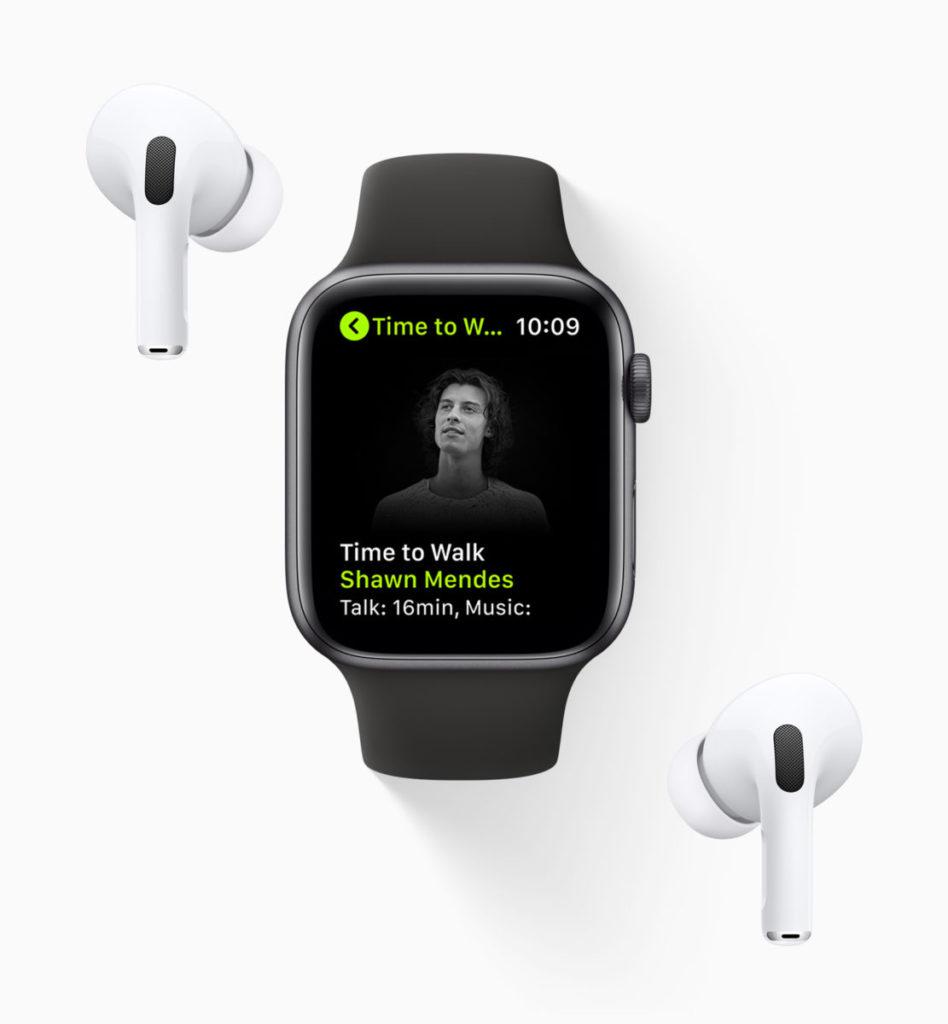 「步行樂」是鼓勵 Apple Fitness+ 訂戶多步行的音韻活動。