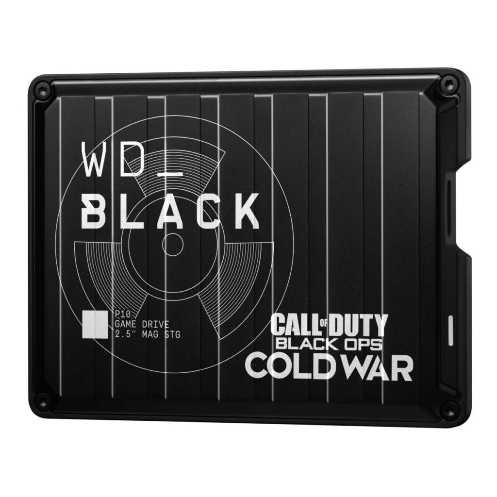 WD_Black Call of Duty: Black Ops Cold War 別注版 P10 遊戲硬碟 。