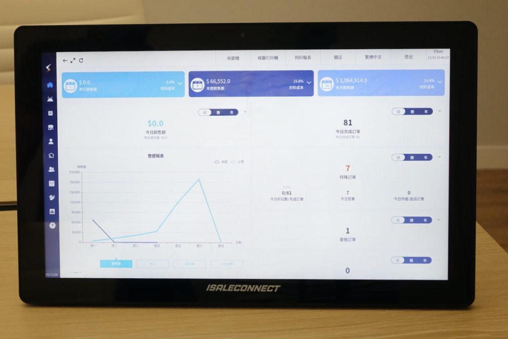 iSaleConnect 著重用戶介面設計,方便在觸控設備上使用。