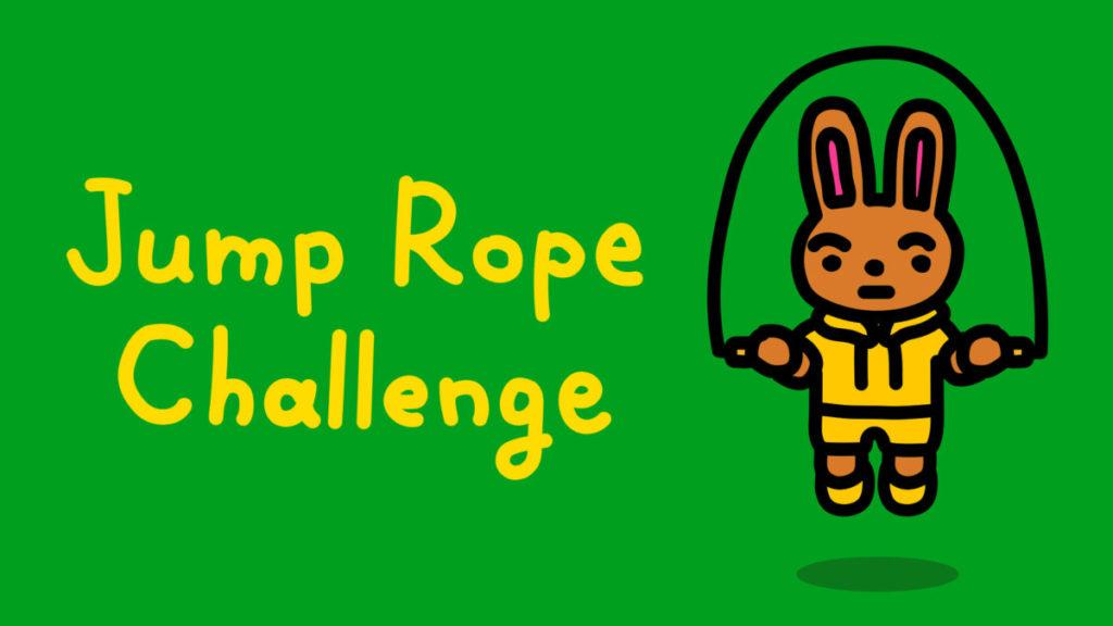將 Joy-Con 化成跳繩手柄的《 Jump Rope Challenge 》。