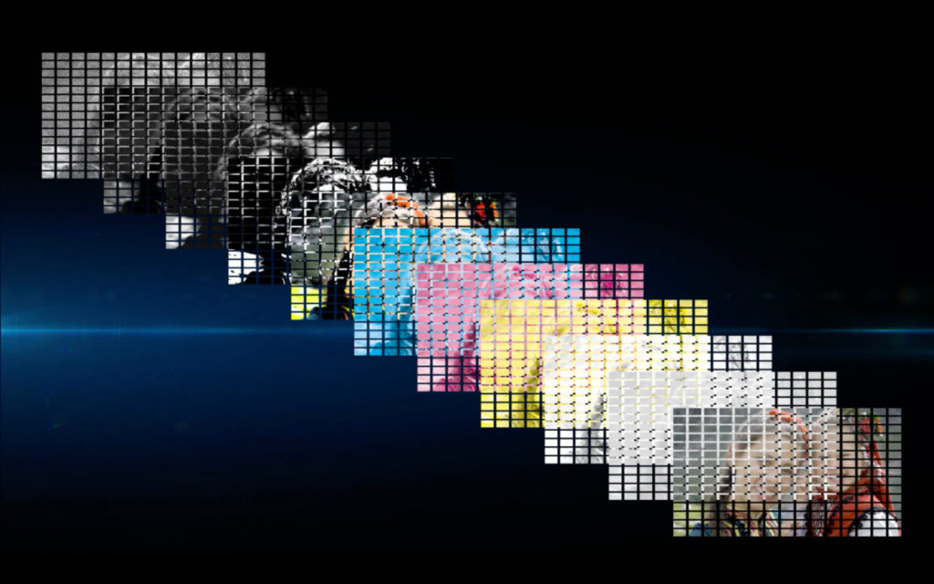 BRAVIA XR 會將畫面分別以對比度、顏色、光暗、清晰度作分析,再按 13 個項目進行畫質處理。
