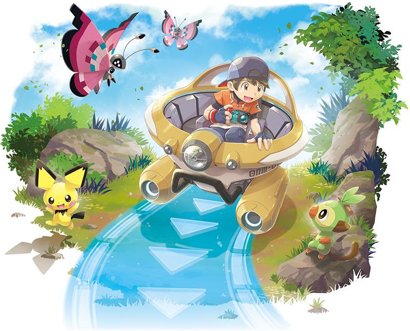 在遊戲中玩家將以交通工具「新壹號」代步。