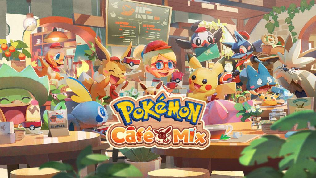 走可愛風格的 Pokémon Café Mix 。