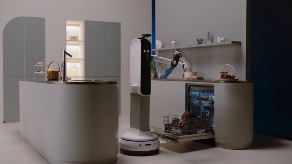 Bot Handy 利用人工智能辨識物件大小、形狀和重量,以機械臂來處理家居物件。