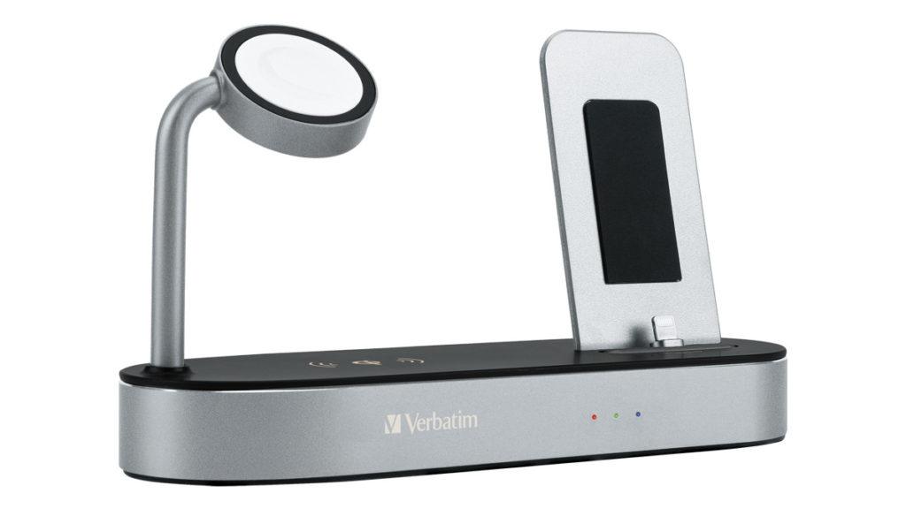 Verbatim 4-in-1 無線充電座