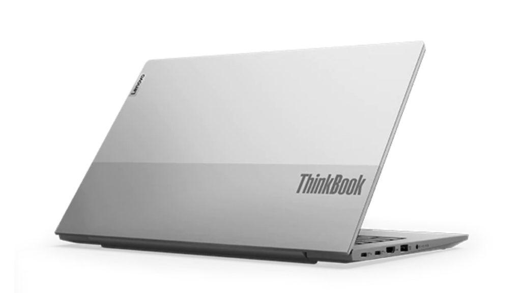 ThinkBook 14 特別採用雙色雙色調礦物灰頂蓋,外型時尚鮮明,亮麗奪目