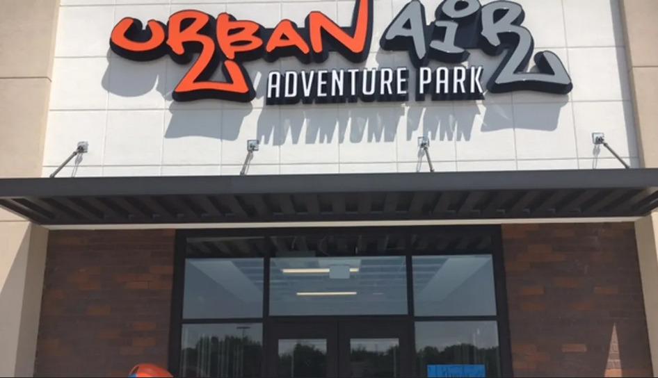 事發的地點「 Urban Air Trampoline and Adventure Park 」。