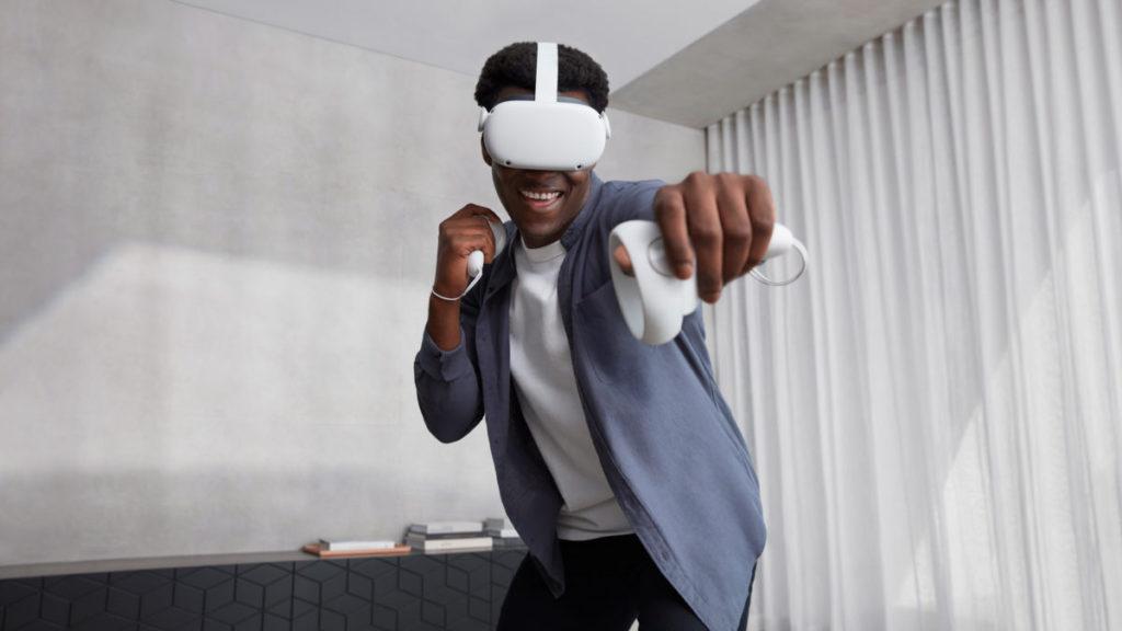 Oculus Quest 2 可以獨立運作,沒有電線佗手褦腳。