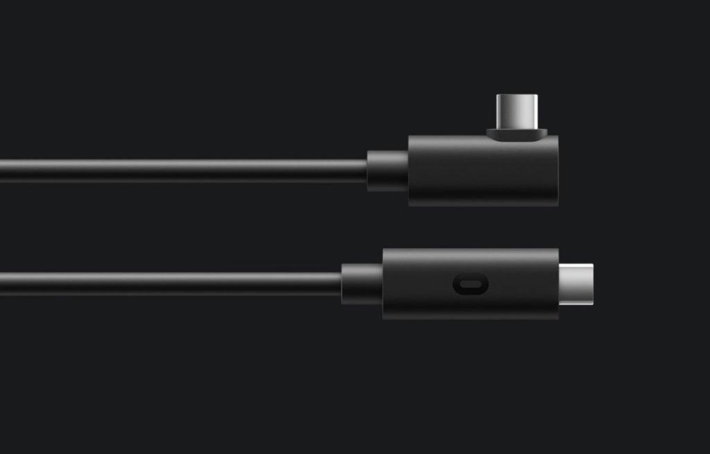 可以透過另購的連接線連接電腦,同質素遊玩 PCVR 遊戲。