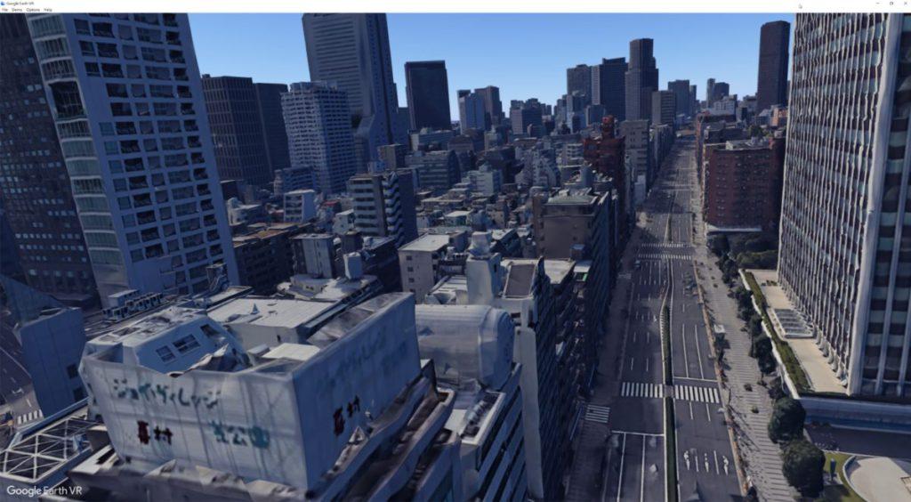 從這個角度觀看日本,有一種自己就是哥斯拉的感覺。