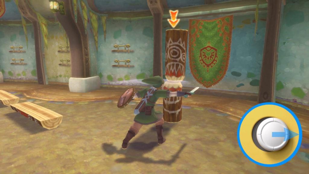 會根據玩家斜向或橫向揮動而使出不同的斬擊。