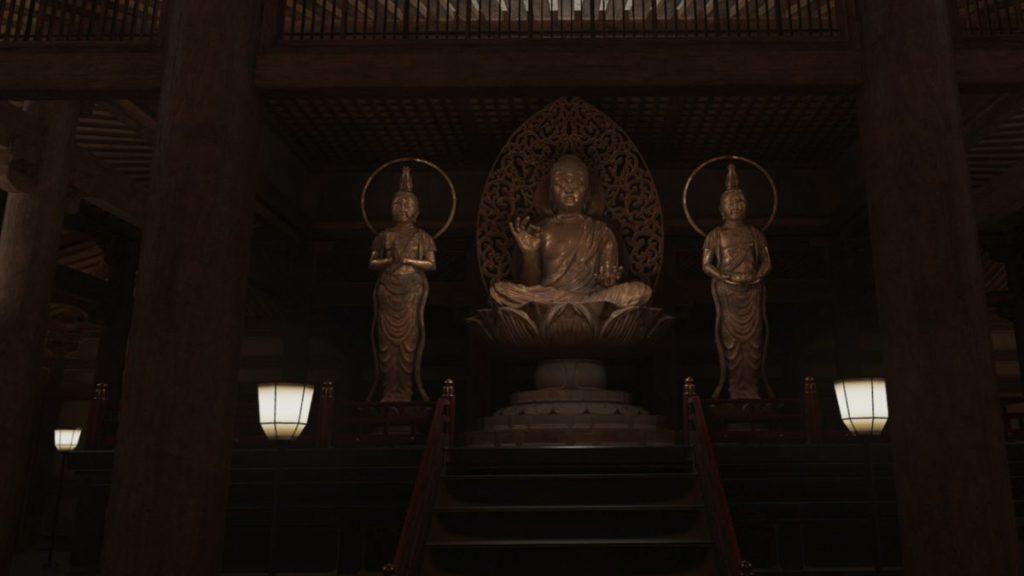 古寺觀音,非常有氣氛。