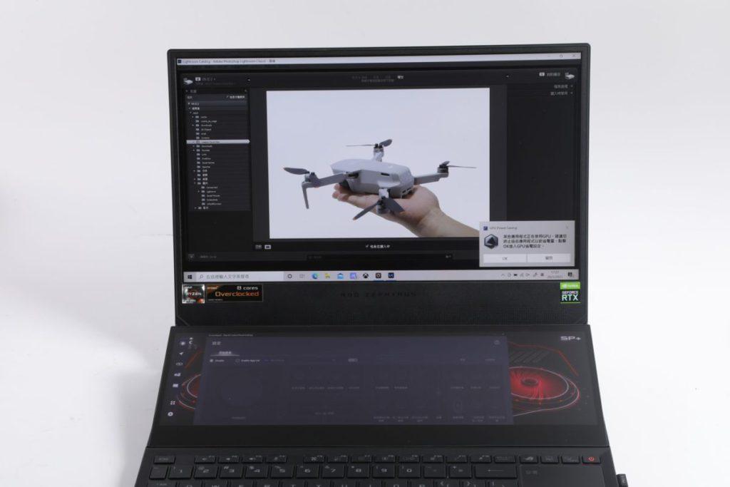 Zephyrus Duo 15 SE 新增了Adobe 控制面板,可提升工作效率。
