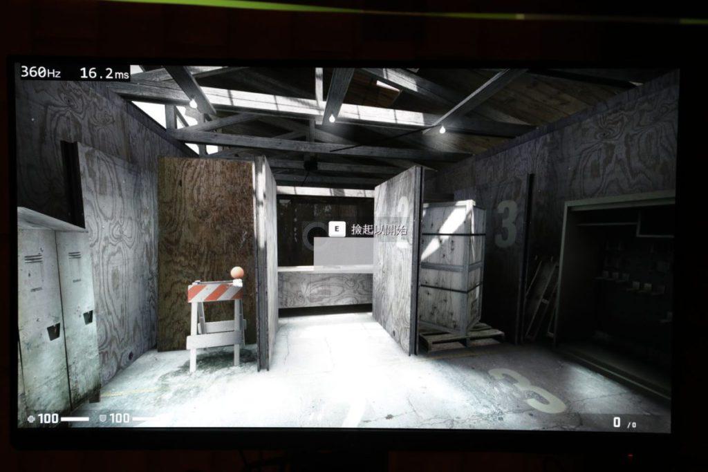 當滑鼠點擊時,畫面左上方就會顯示按鍵需要多少時間才能成功輸入至遊戲。
