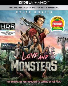 美版 Love and Monsters 4K UHD 畫面出色