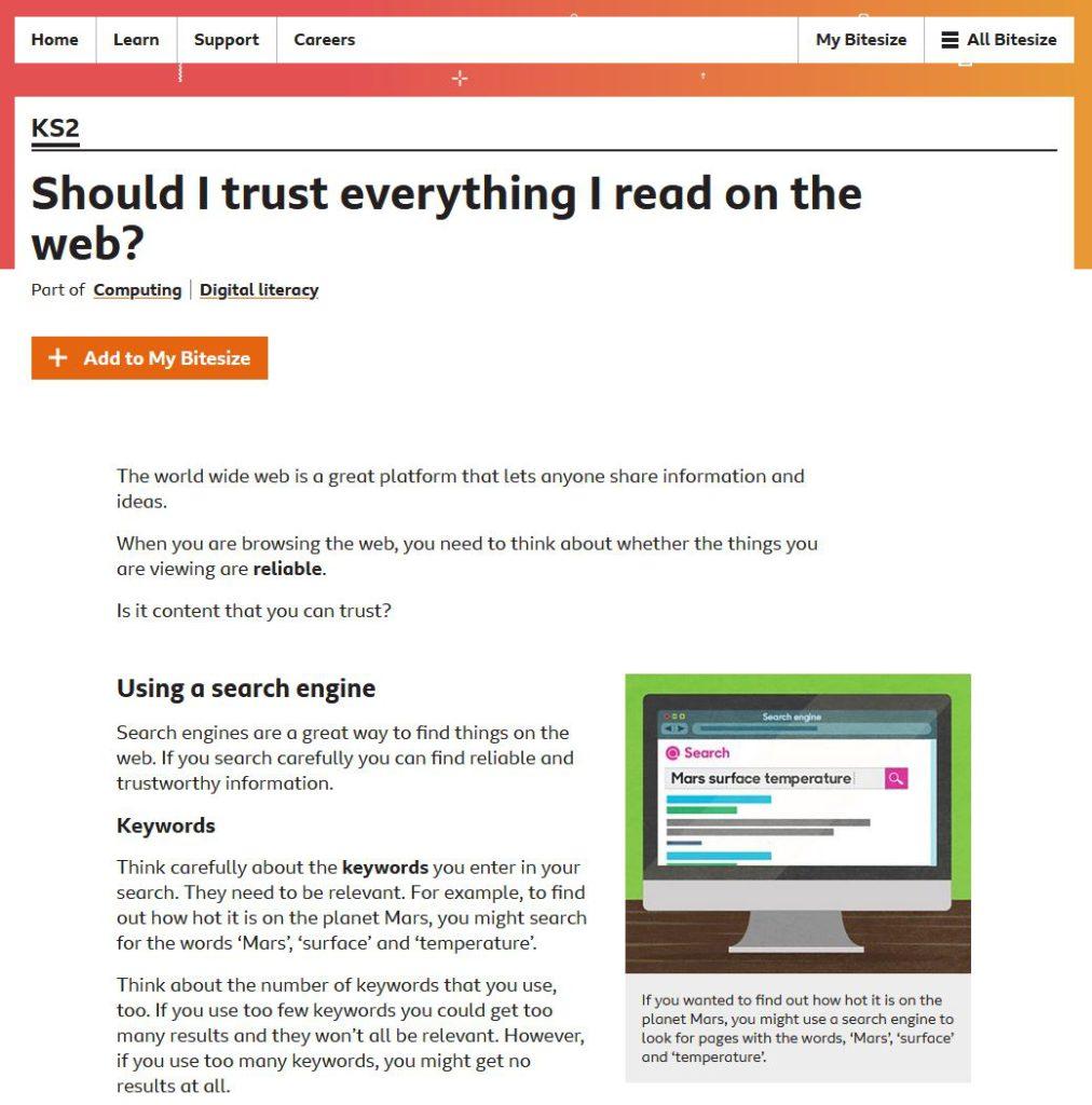 再細看Digital literacy所關注的內容,是大 人也應該學懂的常識。