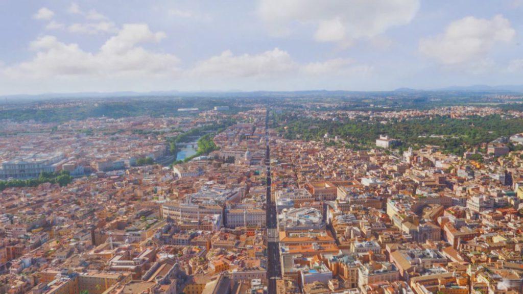 可以乘坐熱氣球飽覽兩座古城的景色。