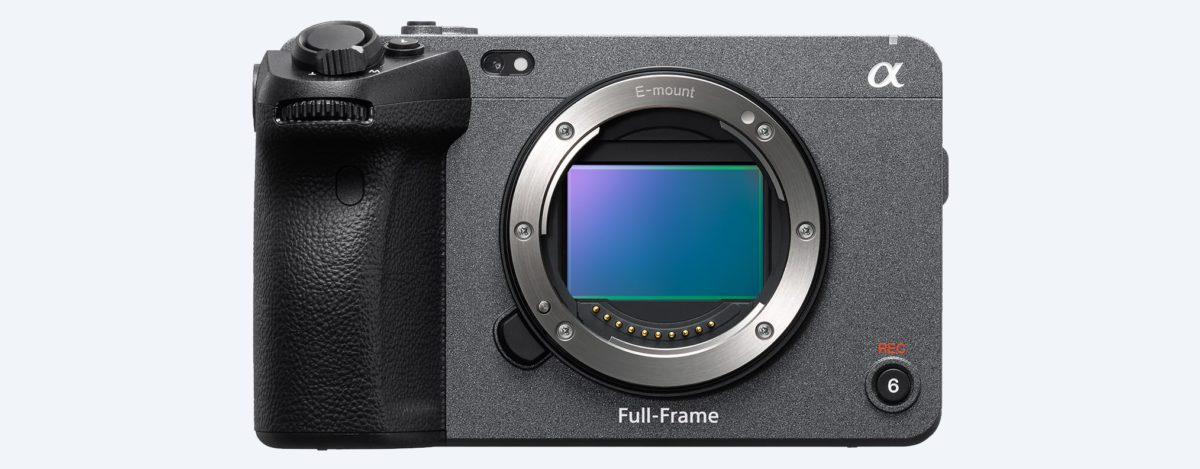 Sony FX3 正面