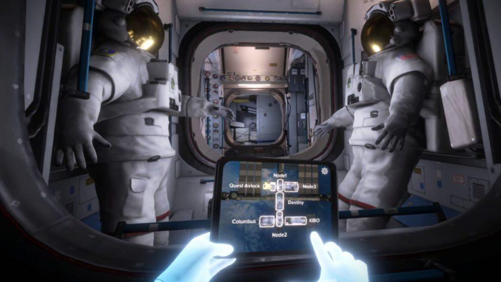 太空站內也有佷多資訊,不過在太空站內移動也是無重力的,所以可能會手忙腳亂。