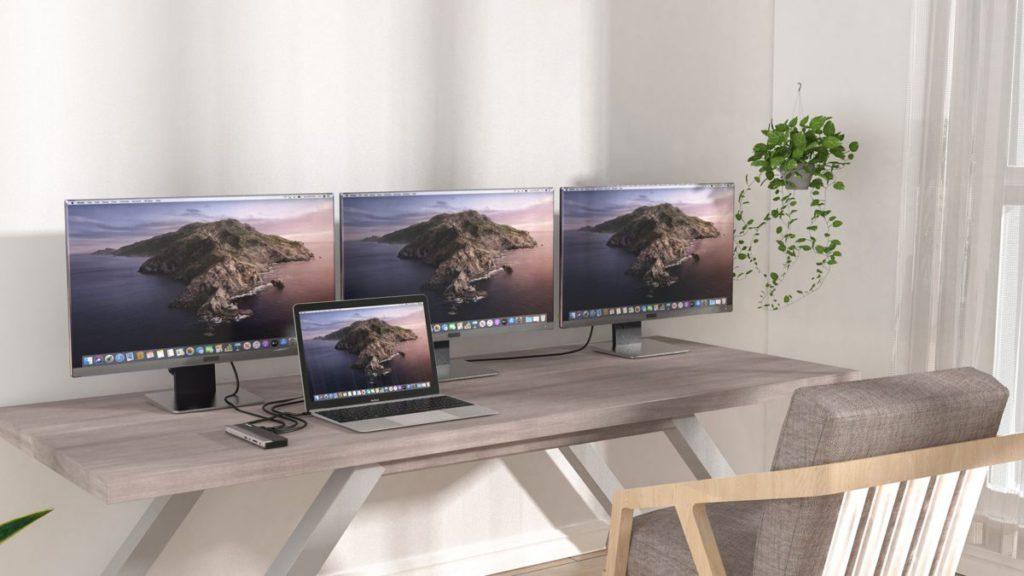 最高能同時輸出 3 組 1080p 的畫面