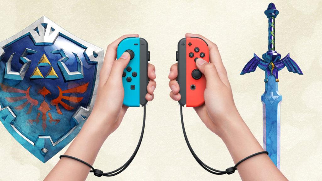 玩家在遊戲中右手是劍,左手是盾。