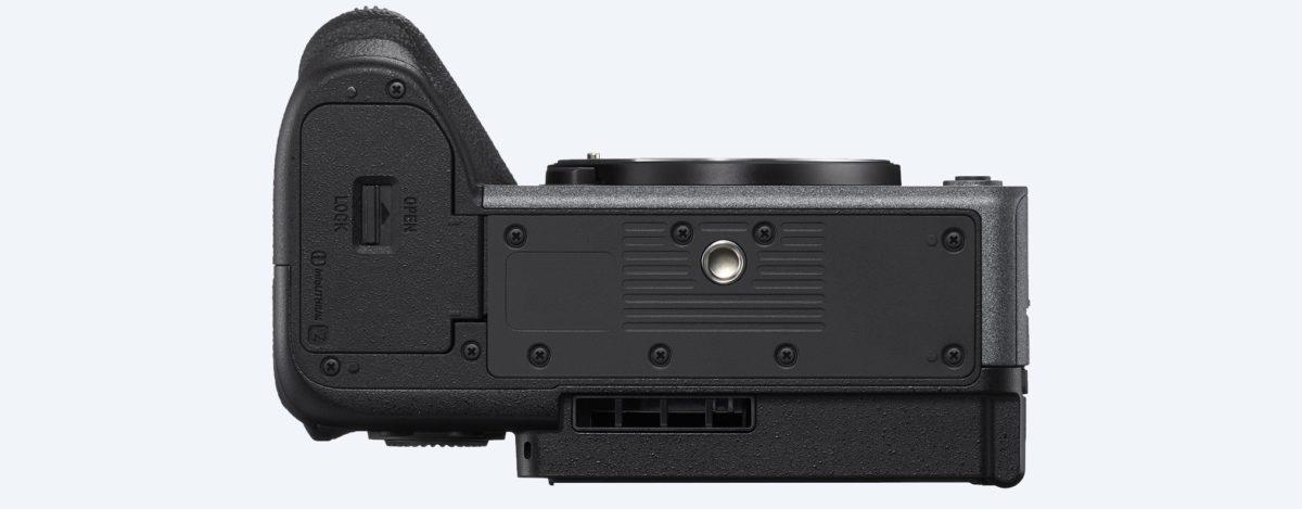 Sony FX3 底部