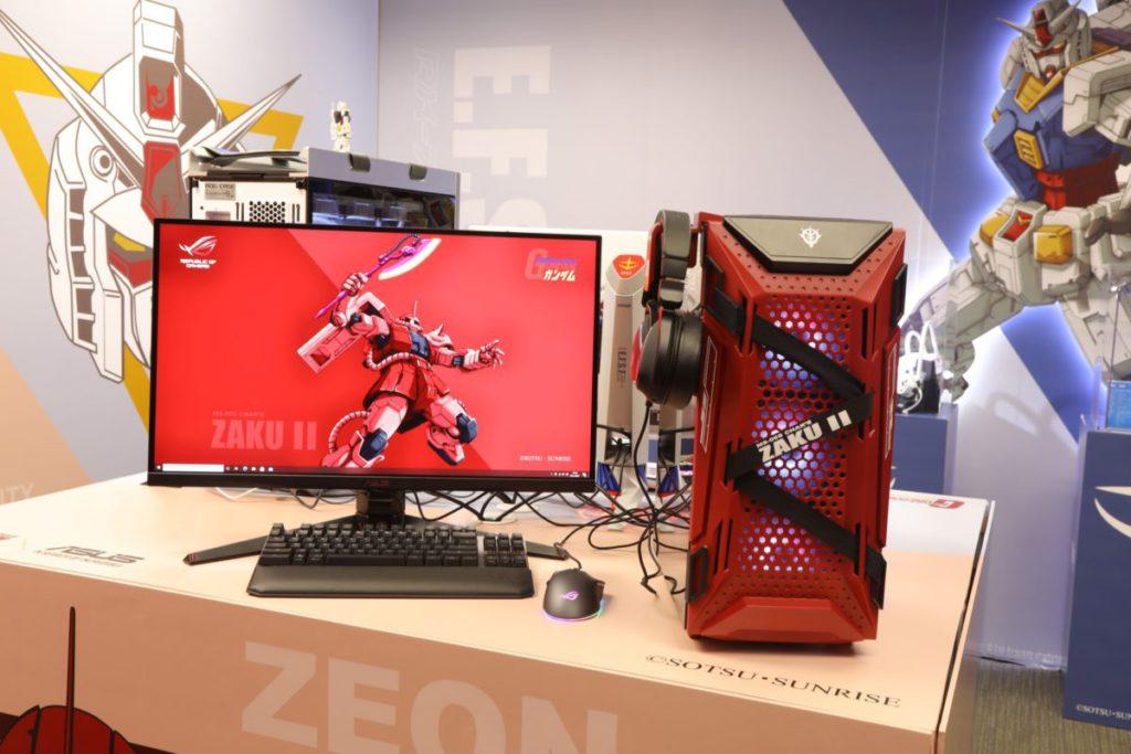 ASUS 宣佈一系列 ROG x Gundam Edition 及 TUF x ZAKU II Edition 的產品將於 2 月登場