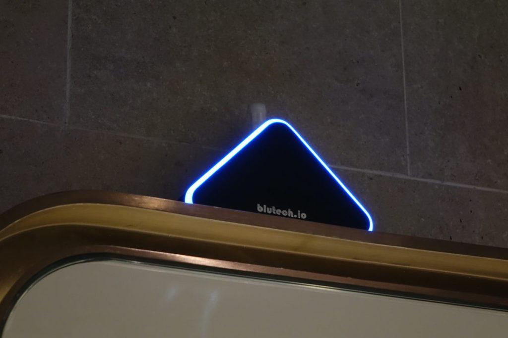 洗手間內加裝 IAQ 空氣質素感應器。