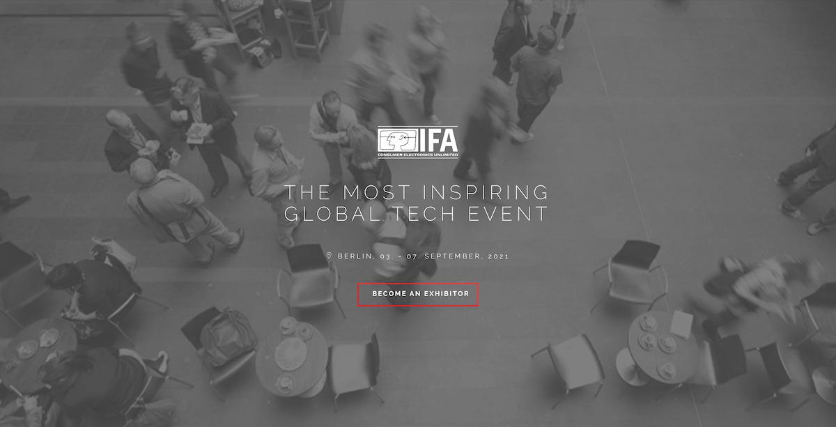IFA 官方正式宣佈於 9 月初恢復舉行實體展覽會。