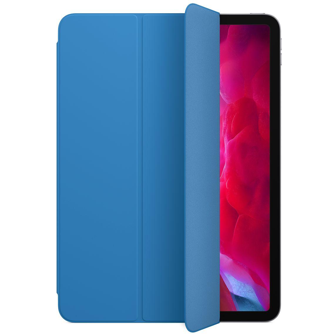 升級至 iPadOS 14.5 beta 2 之後,所有 2020 年推出的 iPad 都會在蓋上智慧型摺套時自動將內置收音咪靜音。