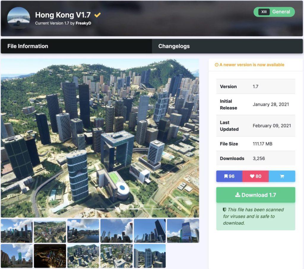 這個香港地景補完了兩岸著名大廈,作者幾乎每日推出更新,值得給予一些贊助支持啊。