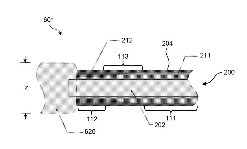 美國專利商標局網站的內容指出,新充電線會使用更堅硬及內容的物料,而充電頭的一端亦會將插頭及線材加厚。