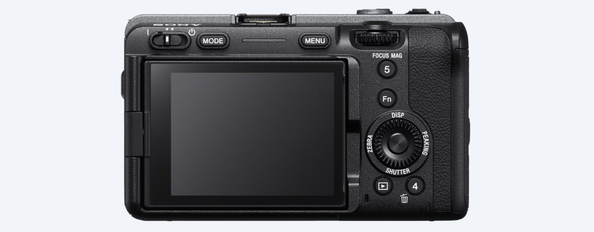 Sony FX3 背面
