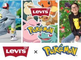 Levi's 聯成 Pokémon 推出服裝系列 石磨藍 551z 牛仔褲比卡超著上身