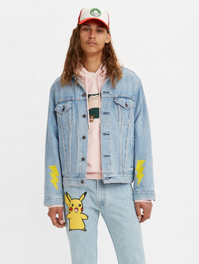VINTAGE FIT TRUCKER  POKEMON STONE( 16,000 日圓,約港幣 $1,180 )