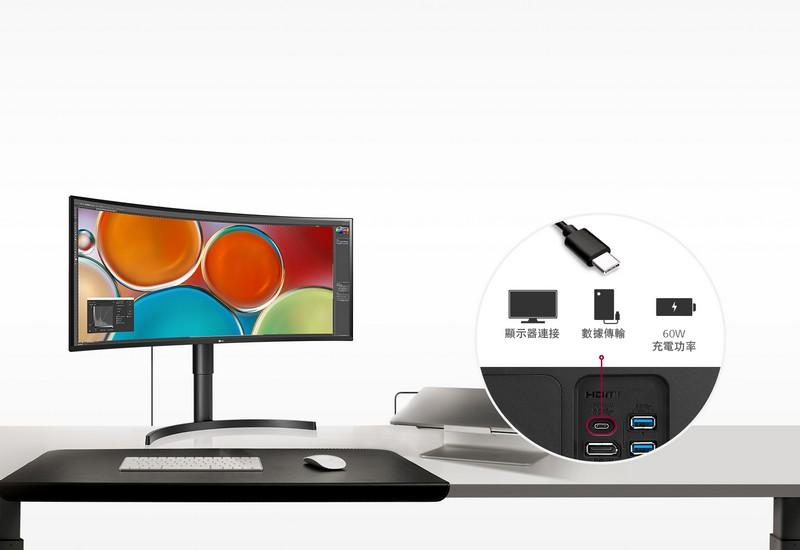 透過 USB Type-C 的多樣性,可滿足各種使用環境。