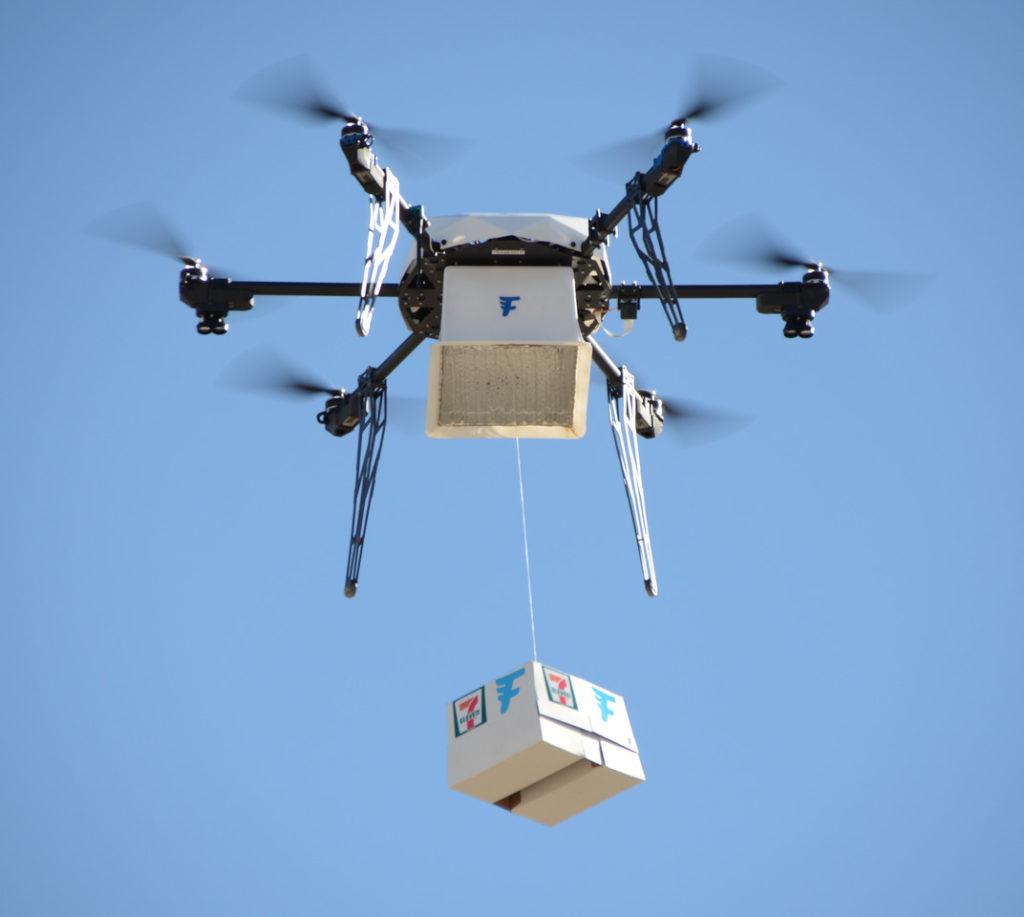 預計未來5 年內將實現飛行器送貨,開啟新物流市場。