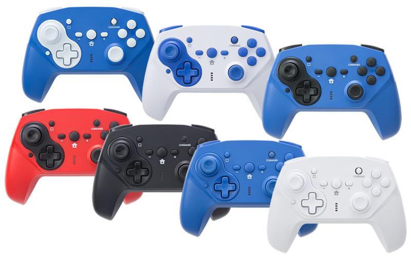 提供了多款顏色可以選擇。