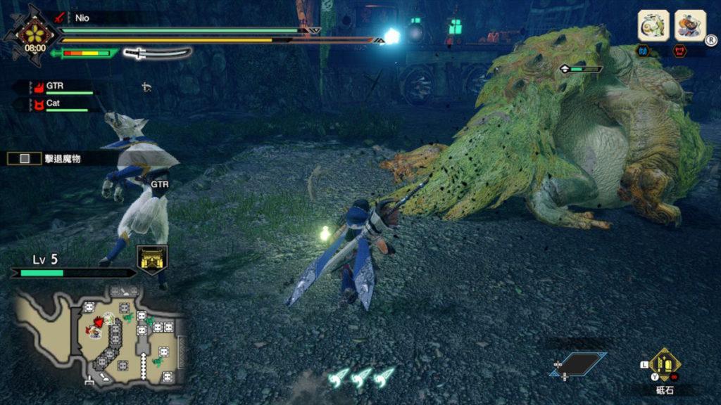 藍色標記的攻城魔物是一大威脅之一。