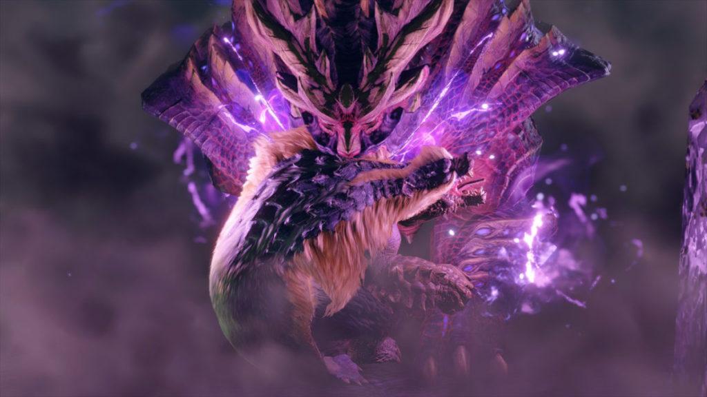 完成任務後神秘魔物「怨虎龍」現身。