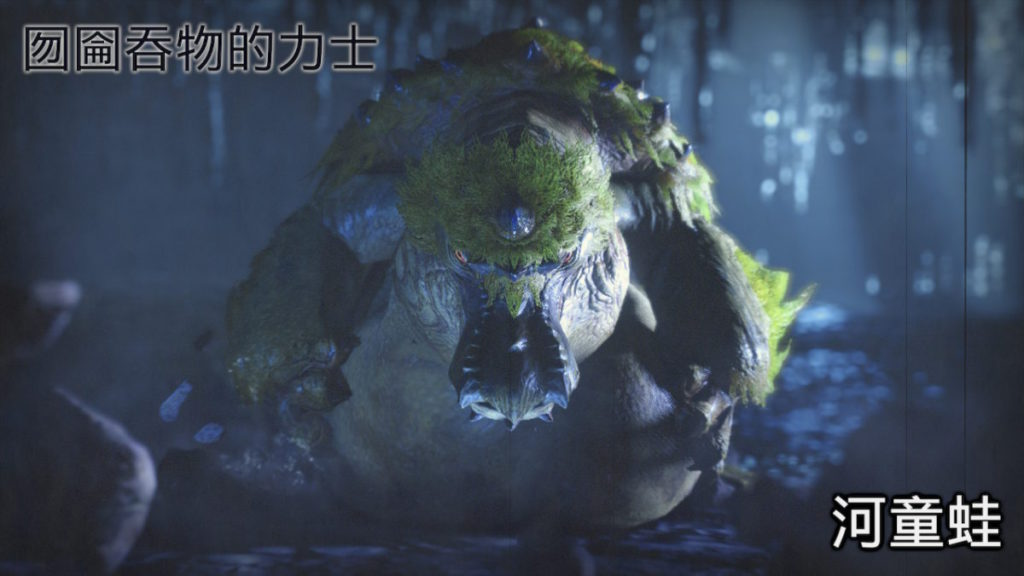 肉感十足的河童蛙。