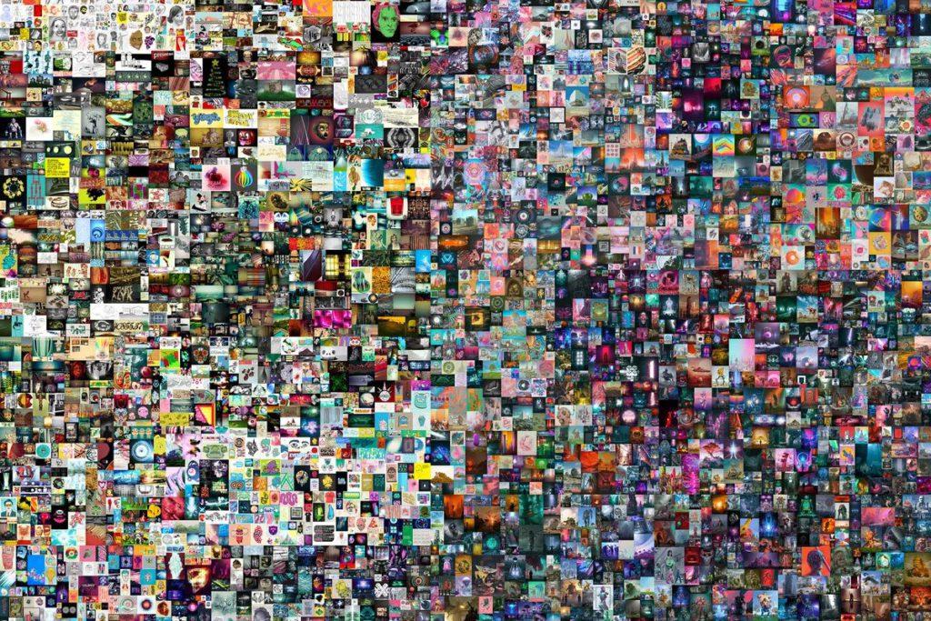 日前 Beeple 一張加入 NFT 認證的 JPEG 檔作品以天價成交,顯示 NFT 技術能為數碼內容附加價值。