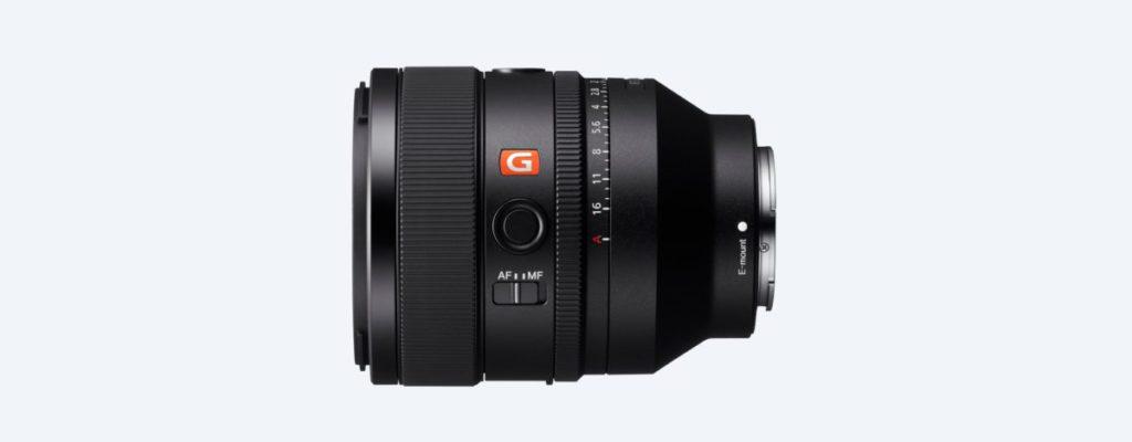 Sony 50mm F/1.2 GM 鏡身相當短小