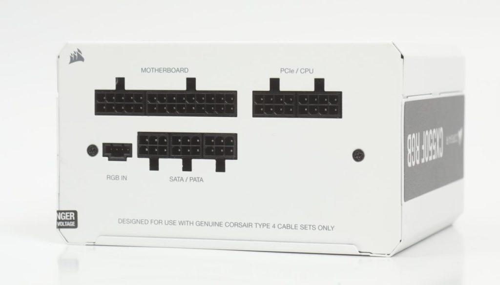 Cable Management 一面。其中最特別是提供 RGB IN,以便火牛 RGB 燈效與主機板同步。