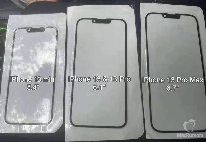 傳聞中 iPhone 13 會有較窄的瀏海,並會採用最高刷新率達 120Hz 的 ProMotion 屏幕。