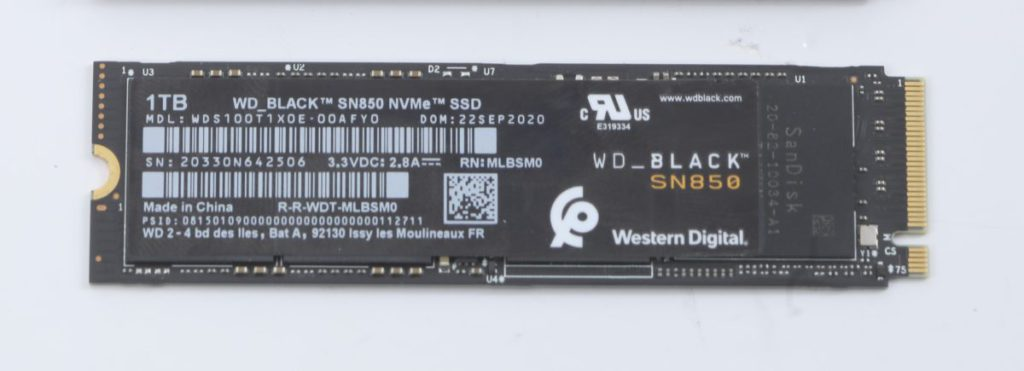 極速之王 WD_Black SN850 NVMe SSD 1TB