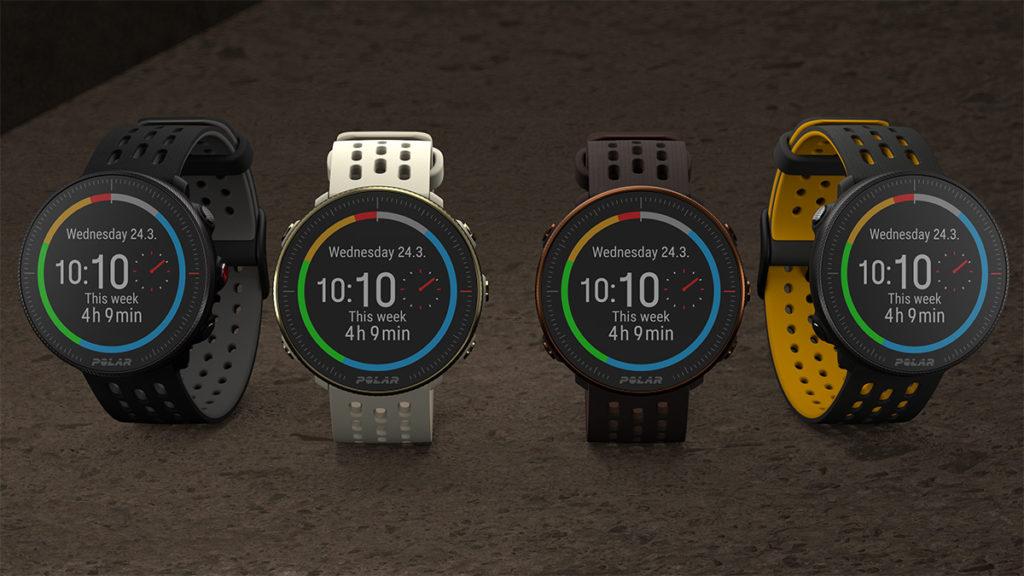 Polar Vantage M2 提供四種顏色可選擇。