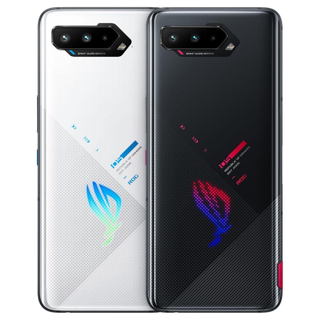 ROG Phone 5備有幻影黑及極光白兩種顏色選擇。
