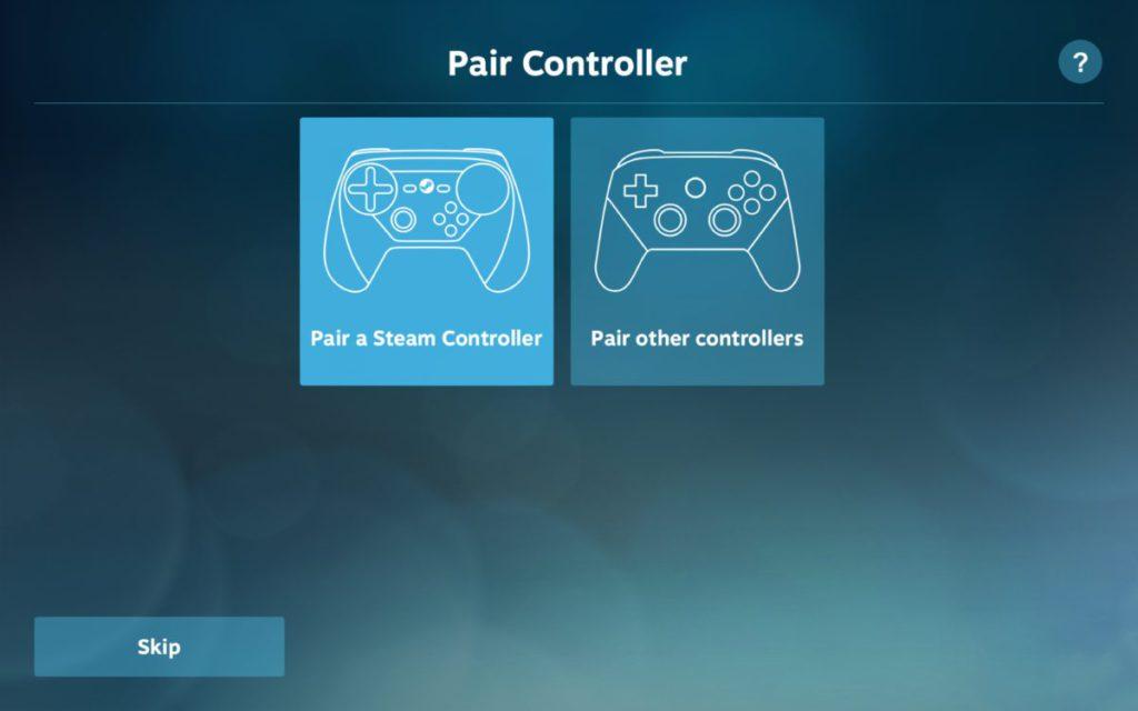 除了 Steam 控制器之外,也可以使用其他藍牙控制器,例如 Xbox Wireless Controller 。